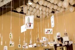 Expo de fotos con globos de helio (Foto de Fotos No: Juan Miguel Pla Jorrín y Maribel Mata)
