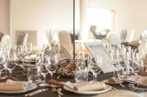 Las mesas con su Protocolo de Comportamiento (Foto de Fotos NO: Juan Miguel Pla Jorrín y Maribel Mata)