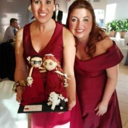 Las protagonistas del día, Mary&Olga con sus fofuchas idénticas. Son tan guapas por dentro como lo son por fuera, os lo garantizamos!