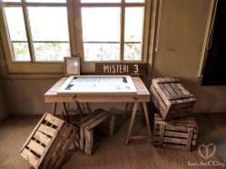 Misterio 3: el puzzle. Cada invitado tenía una pieza del puzzle. Cuando todos pusieron su pieza se descubrió una preciosísima foto del preboda, hecho por Laia Ylla Foto, y también se desveló un misterio. ¿Queréis saber cuál? ¡Seguid avanzando!