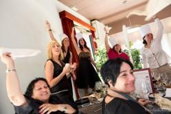 Momentos del juego de comedor: La Thermowedding! Foto de Nou Enfoc Fotografia.