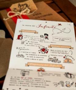 Y en el interior... la receta del Infinito de Mary&Olga! Ingredientes, guarnición, utensilios y pasos a seguir.