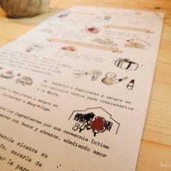 Detalles de la receta: incorporar primero los invitados, luego, las novias, y finalmente Díckens con los anillos! Al final espolvorear con arroz!